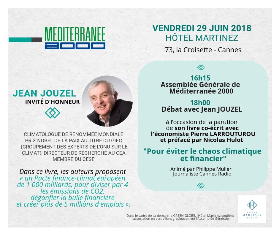 Jean Jouzel, invité d'honneur